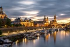 Dresden - von der Carolabrücke