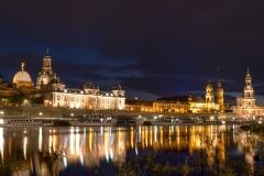 Dresden - vom Elbebufer